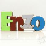 Color Enzo Single Name Puzzle