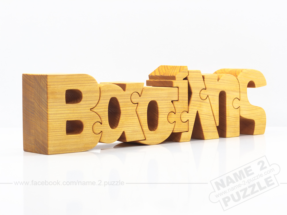 generate you name on puzzle handmade gift